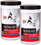 Product review for Nutri-Vet Hip & Joint Advanced Strength Chewables for Dogs w/Probiotic Gels, Safety-Sealed 300ct Twin-Pack