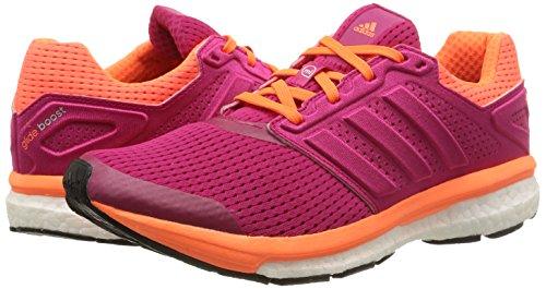 Chaussures Pink Pink bold Femmes Supernova bold Boost Glide De solar Pink Course 7 Orange Rose Adidas wSqIgFTn