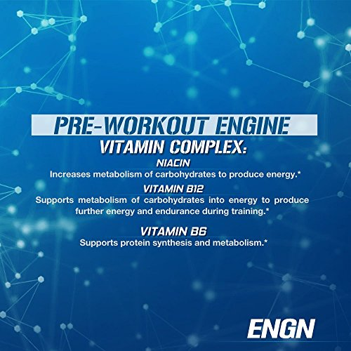 Evlution-Nutrition-ENGN-Pre-workout-30-Servings-Intense-Pre-Workout-Powder-for-Increased-Energy-Power-and-Focus-Blue-Raz-Pikatropin-Free