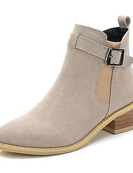 Zapatos Mujer – Botas – vestir/Casual – Botines/Punta redondeada y cerrada –
