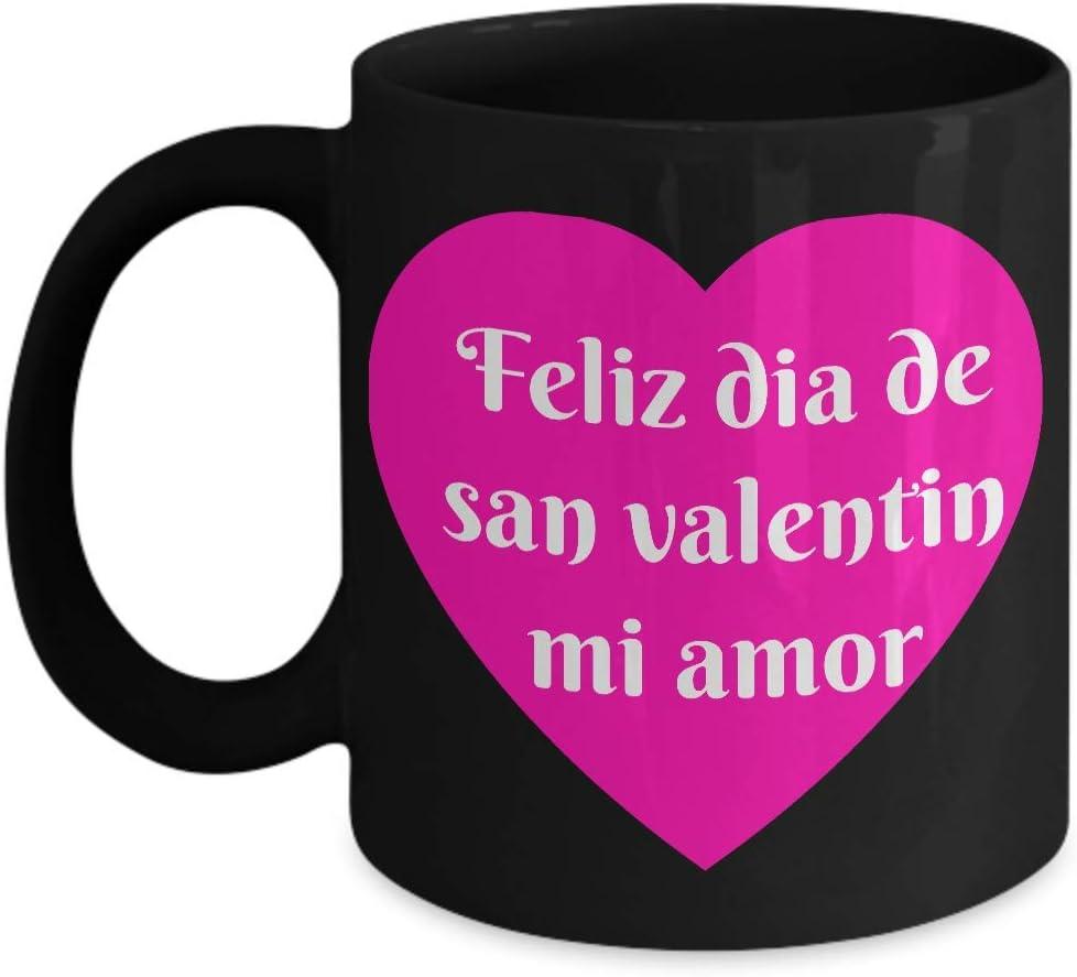 Amazon Com Feliz Dia De San Valentin Mi Amor Taza Para Hombre O Mujer Happy Valentines Day My Love Mug For Women Or Men Hispanic Gift Kitchen Dining ¡feliz día de la mujer a la más linda de todas! feliz dia de san valentin mi amor taza