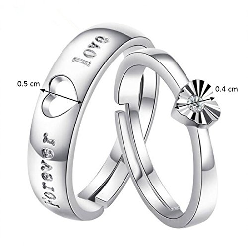 1afd4d8b6c ... Peora Hamper of Couple Ring with Red Rose Gift Box for Boyfriend/ Girlfriend/Gift for Valentine/Gift for Him/Gift for Her. 78 %