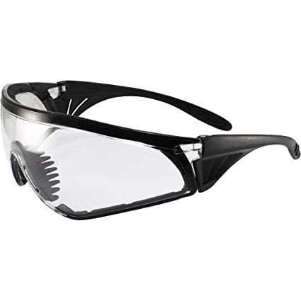 62e6d40126 Amazon.com  Global Vision Rattlesnake Padded Motorcycle Safety Sunglasses  Black Frame Clear Lens ANSI Z87.1  Home Improvement