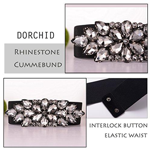 Dorchid-Women-Belt-for-Dress-Luxury-Beaded-Crystal-Wide-Stretch-Belts-Classic