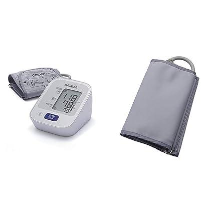 OMRON M2 - Tensiómetro de brazo, detección del pulso arrítmico, tecnología Intellisense para dar lecturas de presión arterial rápidas, cómodas y ...