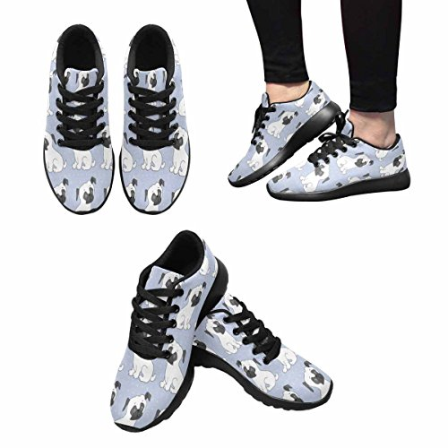 Interessante Donna Da Jogging Da Corsa Sneaker Leggero Go Easy Walking Comfort Sport Scarpe Da Corsa Pretty Dogs Multi 1