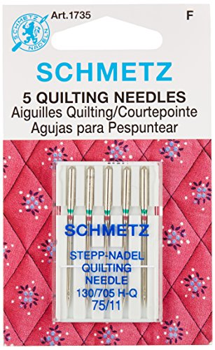 Euro-Notions 73078 Quilt Machine Needles-Size 11/75 (Machine Quilting Notions)