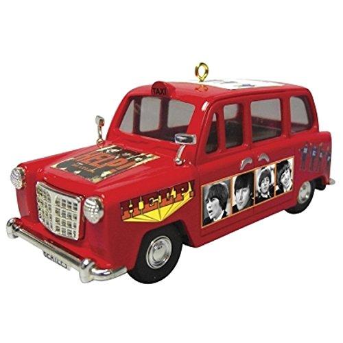 Carlton Cards Heirloom The Beatles Help Portrait Car Christmas ()