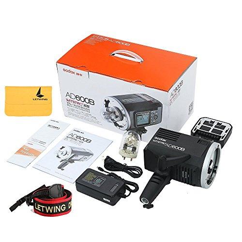 Godox AD600B TTL Bowen Mount GN87 600W HSS 1 / 8000s 2.4G Wireless with 8700mAh Lithium Battery Outdoor Studio Strobe Flash,Godox XPro-N Flash Trigger for Nikon DSLR Camera by Godox (Image #8)