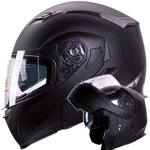 modular helmets motorcycle matte - 8