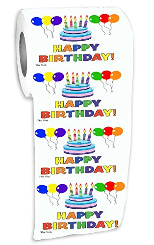 Happy Birthday Toilet Paper Funny Birthday Tissue Paper Office Friends Family Home
