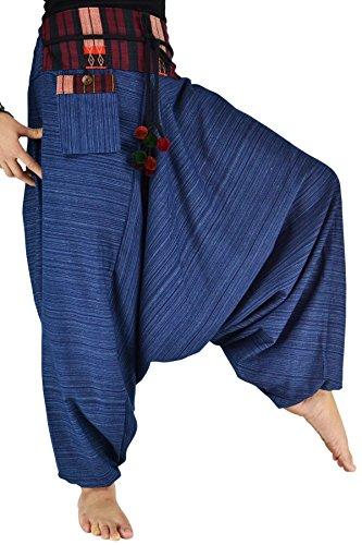 ... Damen Haremshose Pumphose Aladinhose Handarbeit Baumwolle Yoga  Einheitsgr  e Königsblau aM0ZdmAey ... ff46d93d11