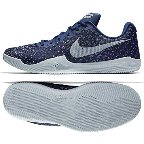 Nike Mens Mamba Instinct Lightweight Low-Top Basketball Shoes (10 D(M) US) Navy Blue