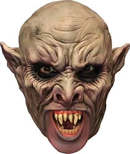 Vamp Chinless Latex Mask Adult (Chinless Mask)