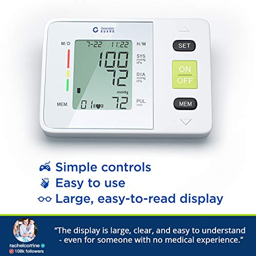 Generation Guard Clinical Arm BP Monitoring System
