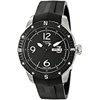 Tissot Men's 'T Navigator' Black Dial Black Rubber Strap DateDay Automatic Watch T062.430.17.057.00
