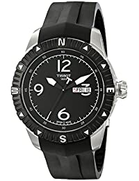 Tissot Men's T062.430.17.057.00 Black Dial Watch