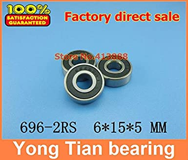 Ochoos Miniature Stainless Steel Bearing SS696-2RS 696 S696 2RS S696-2RS S696RS S696RZ R-1560HH 6155 mm 440C Material