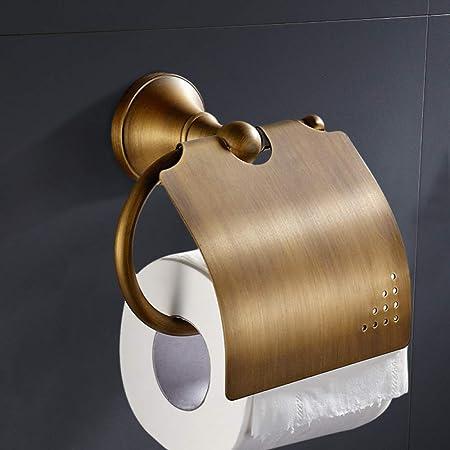 Papier toilette-support Gold wc papier Hygiénique Laiton papier toilette porte-rouleau