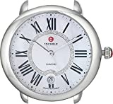 MICHELE Women's MW21B00A0963 Serein 16 Analog Display Silver-Tone Watch Head