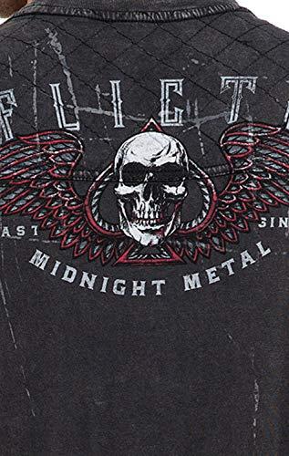 con gr Viper Affliction Camiseta hombre Temple de w8XAnYqz