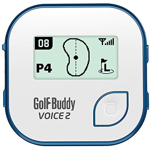 BUNDLE: 2016 Golf Buddy Voice 2, Blue or Pink + Golf Buddy Wristband (White/Blue) by GolfBuddy (Image #2)