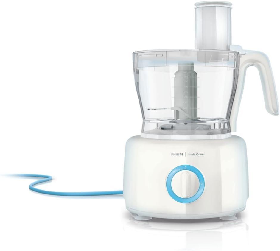 Philips HR7782/00 - Robot de cocina Jamie Oliver 1000W ,recipiente de 3,4 l, 8 accesorios aptos para lavavajillas: Amazon.es: Hogar