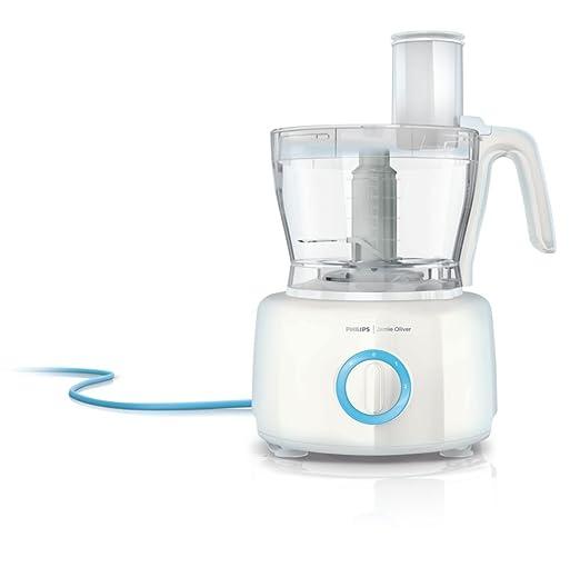 Philips HR7782/00 - Robot de cocina Jamie Oliver 1000W ,recipiente de 3,4 l, 8 accesorios aptos para lavavajillas