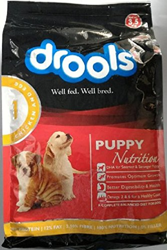 Drools Puppy Nutrition Chicken and Egg, 3.5 kg