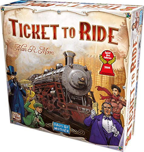 Days of Wonder Ticket to Ride (Best Time To Purchase A Tv 2017)
