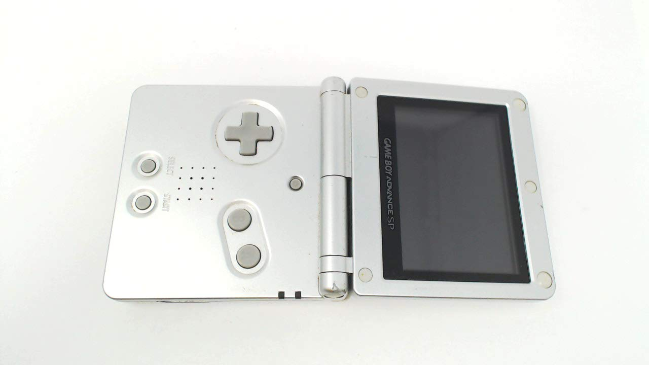 Nintendo Game Boy Advance SP - Silver