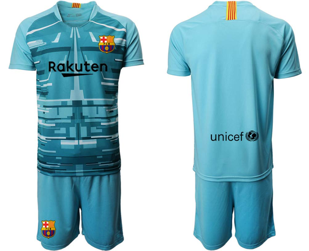 MOES Custom Football Club Jerseys Design Team Soccer Jersey Kits 2019-2020(Home//Away),Personalized With Any Name-Number Soccer Uniforms for Men Kids