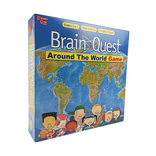 University Games Brain Quest Around The World Game