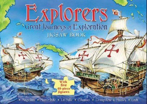 Explorers: Great Journeys of Exploration Jigsaw Book by The Five Mile Press (2006-05-01)