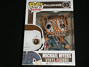 DANIELLE HARRIS Signed Michael Myers Funko Pop Figure Halloween Scream Queen Autograph