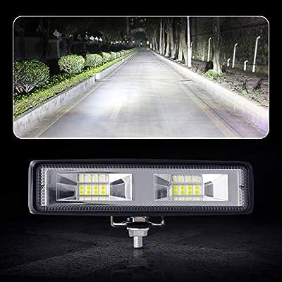 Offroad Scheinwerfer UTV Trakto YEEGO 1pcs 36W LED Scheinwerfer Arbeitsscheinwerfer 12V 24V Zusatzscheinwerfer f/ür SUV ATV Truck