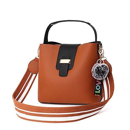 Shopping Cute Simple PU Yellow Body Bag Bag Leather Shoulder Cross Women Bag Casual waqvdXv