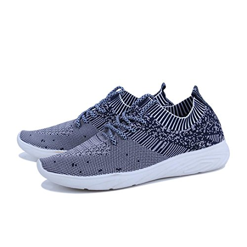 Outdoor Flip Walking Sports Hiking Gym Men Shoes Running VEMOW Tied Workout Espadrilles Wedge Lace Trainers Flops up Cross Blue Sewing Gym Air Sneakers Thongs Flats Dance Mesh for qzaR6xT