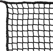 YLOVAN Golf Netting High Impact Sports Practice Barrier Net, Black, 10 x 10 Ft / 10 x 15 Ft