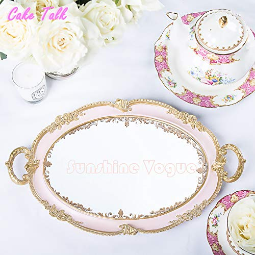 wedding cake tray European vintage ancient dessert plate candy bar decoration cake tool for food ()