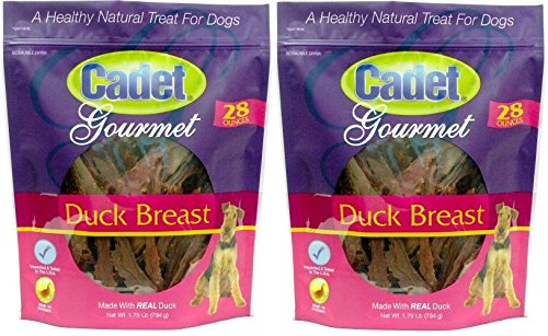 Corp Trading Oven ((2 Pack) Duck Breast Dog Treats, 28 Ounce)