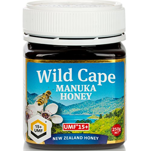 Wild Cape UMF 15+ East Cape Manuka Honey, 250g (8.8 - Wild Honey Forest