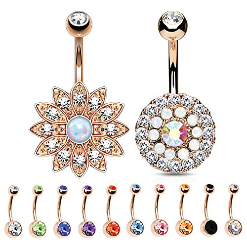 10mm Belly Button Navel Rings - 5