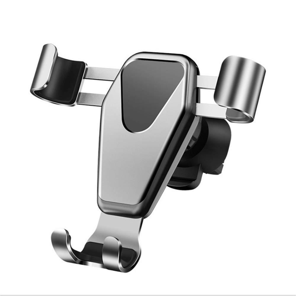 Instrument de navigation multifonctionnel en métal universel de support de téléphone de voiture tournant hors de la parenthèse de voiture de port d'air