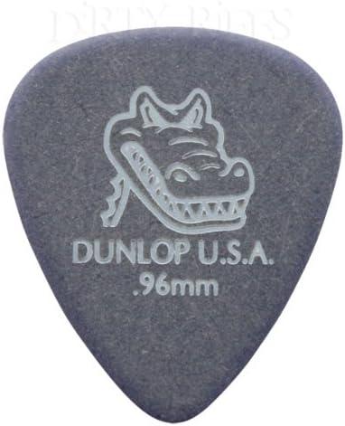 Dunlop Gator - Juego de 24 púas para guitarra (0,96 mm, en una ...