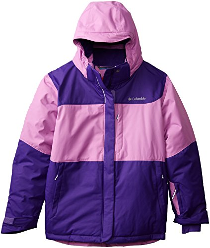 Columbia Girl's Nordic Jump Jacket, Hyper Purple/Blossom Pink, X-Large ()