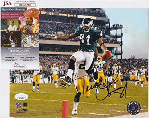 Terrell Owens #81 Autographed Signed Philadelphia Eagles 8x10 Photo + JSA Coa Dd68288 ()