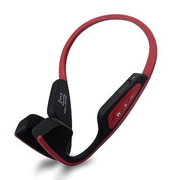 LF-19 Auriculares Inalámbricos Inteligentes Conducción Ósea Auriculares Bluetooth Auriculares Estéreo Deporte Auriculares con Cancelación de Ruido: ...