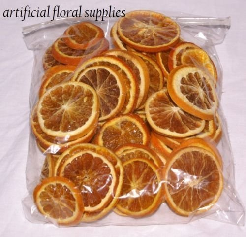 3X 15 dried orange slices christmas crafts and wreaths 15 slices in total by floral supplies
