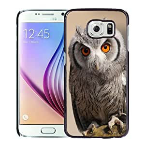 New Personalized Custom Designed For Samsung Galaxy S6 Phone Case For Cute Owl Phone Case Cover